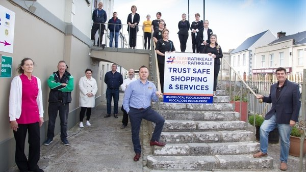 'Team Rathkeale' includes supermarkets, pharmacies, restaurant and hotel owners, hairdressers, and banks