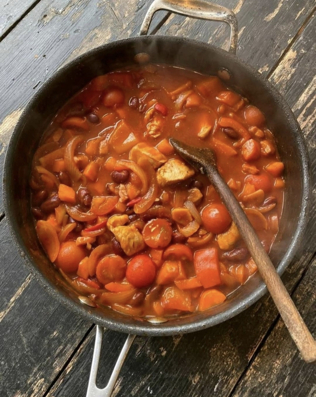 Kevin Dundon's chicken and bean stew: Today