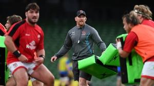 Ulster forwards coach Roddy Grant