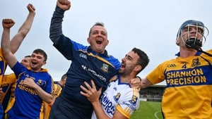 Davy Fitzgerald enjoyed more county success with Sixmilebridge