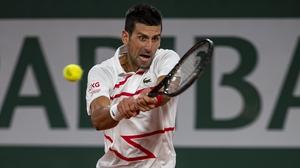 Djokovic made a good start at Rolland Garros