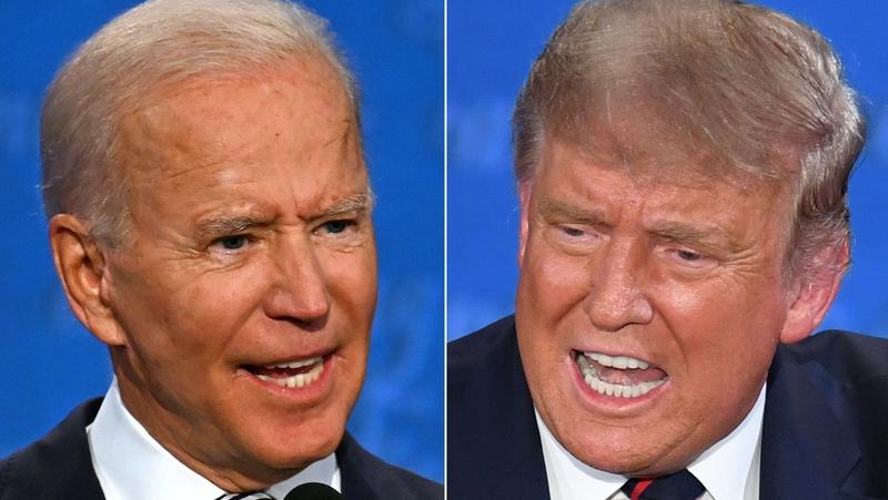 Joe Biden agus Donald Trump