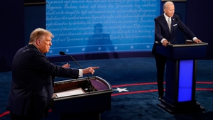 Donald Trump and Joe Biden took verbal shots at eachother for much of the 90-minute debate