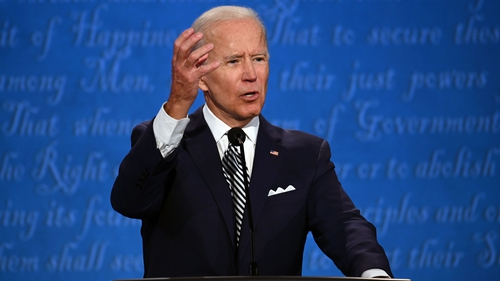 Joe Biden's performance generated a boost in online donations to his election campaign