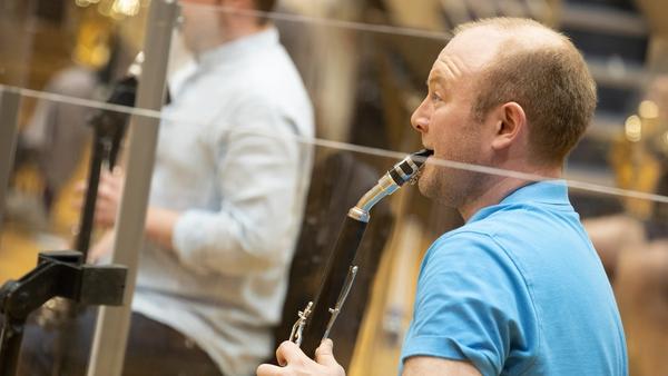 RTÉ Concert Orchestraplayer Macdara Ó Seireadáin (Pic: Kinlan Photography)