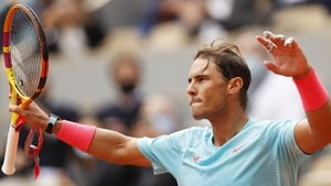 Rafael Nadal was untroubled against Mackenzie McDonald
