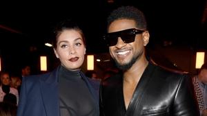 Usher and Jenn Goicoechea have welcomed a baby girl