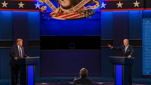The first debate between Donald Trump and Joe Biden was a scrappy affair