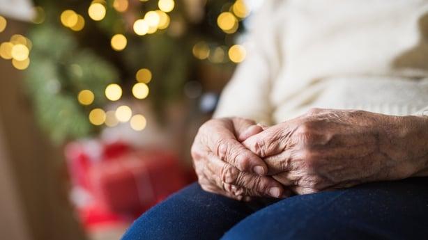 granny at christmas