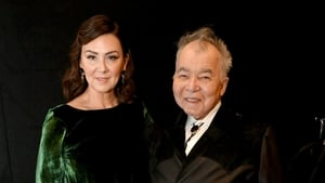 Fiona Whelan pictured with her late husband, John Prine