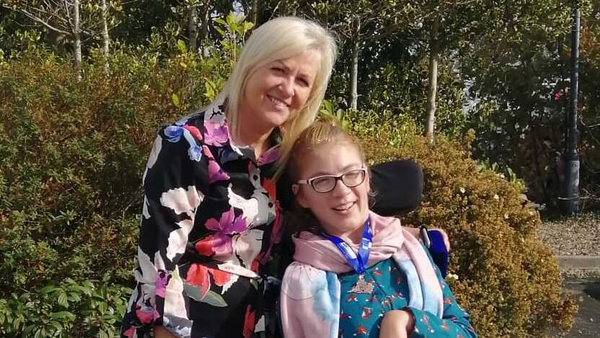 Ann, pictured with her daughter, says she has a lot of get up and go
