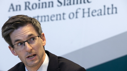 Dr Ronan Glynn said there are 120 people in hospital across the country