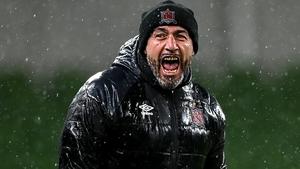 Filippo Giovagnoli celebrates after the final whistle at the Aviva