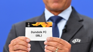 Dundalk will learn their group opponents at lunchtime