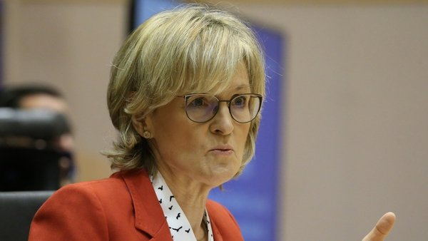 Mairead McGuinness, European Commissioner for Financial Stability, Financial Services and Capital Markets