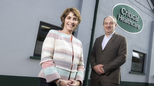 Anne Cusack and Seamus Reilly, Founders of Critical Healthcare