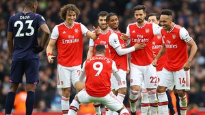 Arsenal will provide the glamour tie in Group B for Dundalk