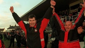 Stephen Kenny during his Longford Town days