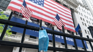 US stocks fall as Donald Trump's positive Covid-19 test creates extra uncertainty for traders