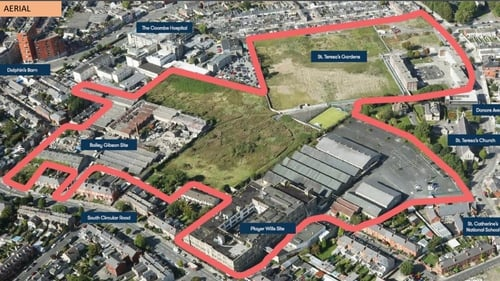 The City Council plans to build 850 homes with 70% cost rental and 30% social on the St Teresa's site