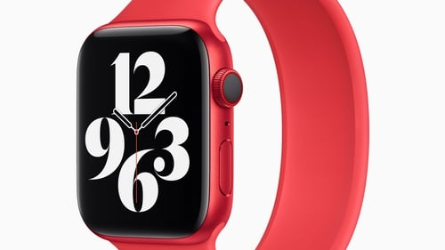Red is one of the new colours that the Apple Watch Series 6 is now available in