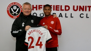 Rhian Brewster is a Sheffield United player