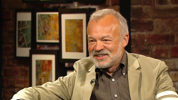 """Graham Norton - """"Did I mention the studios are very close to my house?"""""""
