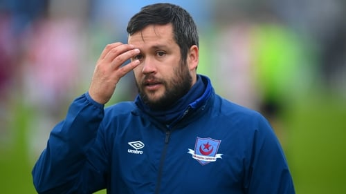 It was a frustrating night for Drogheda United manager Tim Clancy