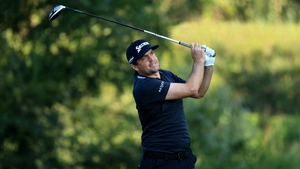 Keegan Bradley leads at the Sanderson Farms Championship in Mississippi