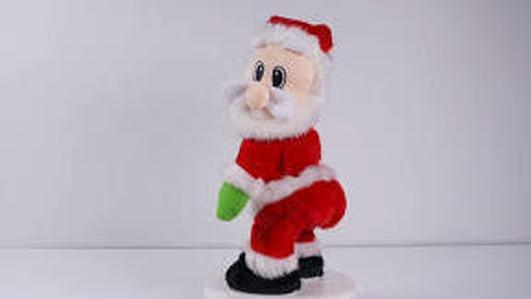 Singing Reindeer and Plastic Santas