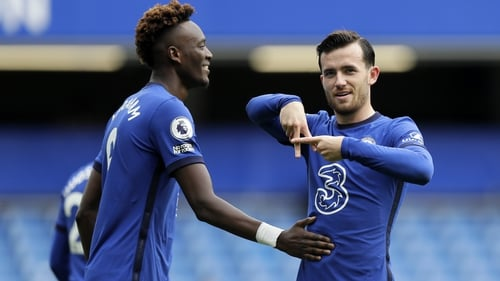 Ben Chilwell fired Chelsea in front