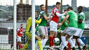 Alan Bennett (3) put through his own net