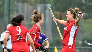Old Alex celebrate Emma Russell's opening goal