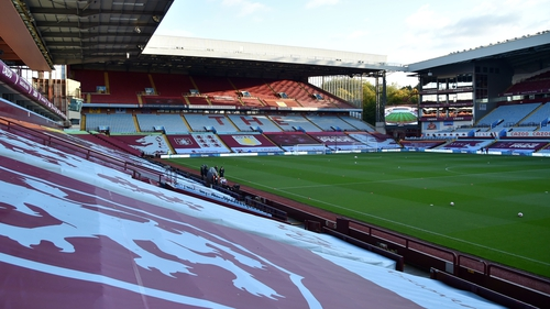 Aston Villa's home game with Everton is in jeopardy
