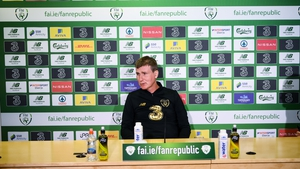 Stephen Kenny met with the media on Sunday ahead of Thursday's game in Slovakia