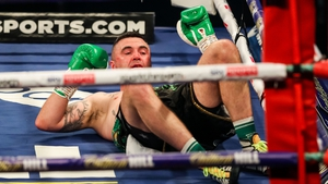 Kennedy was knocked to the canvas in the second round