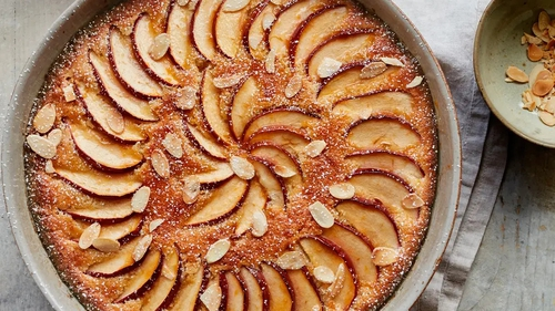 Brioche frangipane apple pudding recipe from Simple Comforts by Mary Berry.