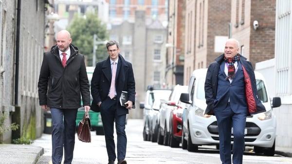 Prof Philip Nolan, Dr Ronan Glynn and Dr Tony Holohan of NPHET (RollingNews.ie)