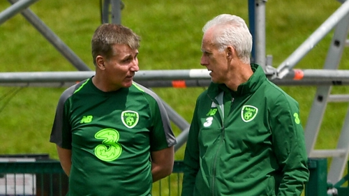 Two of Ireland's three managers since this qualification process started