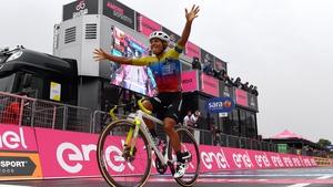 Jonathan Caicedo won Stage 3 at Giro d'Italia