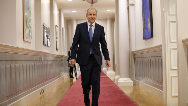 Micheál Martin said the road ahead will continue to have many turns and will challenge us in new ways