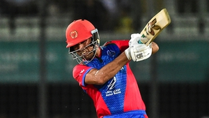 Najeeb Tarakai won a first man-of-the-match award for Afghanistan in a T20 victory over Ireland in 2017