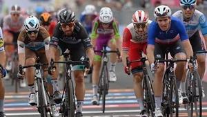 It was a close finish in Villafranca Tirrena
