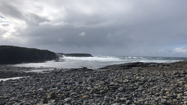 Spanish Point along the Wild Atlantic Way is a big tourist attraction in Co Clare