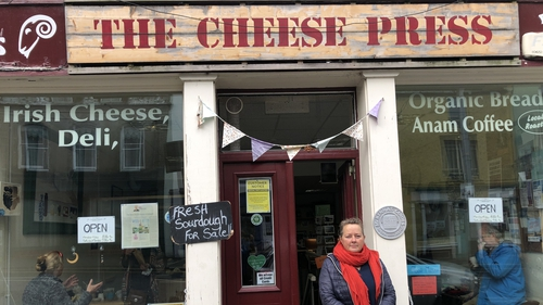 Chockablock with Irish cheeses: the Cheese Press in Ennistymon, Co Clare. Photo: Teresa Mannion