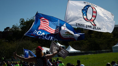 The QAnon movement grew from an anonymous 2017 posting claiming bizarre child exploitation and political plots