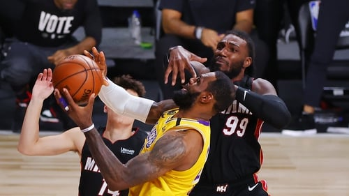 LeBron James will stay with the Lakers