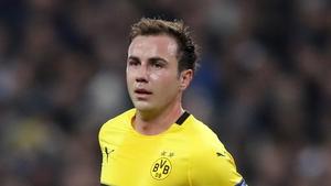 Gotze leaves Dortmund on a free transfer