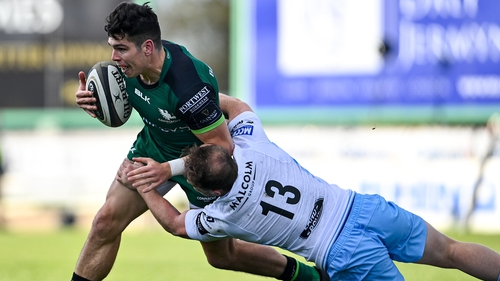 Alex Wootton has been in fine form for Connacht