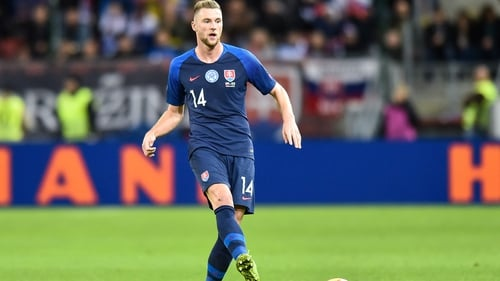 Milan Skriniar misses out Slovakia crunch Euro 2020 play-off with Ireland